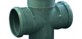 Крестовина канализационная (для внутренней канализации)