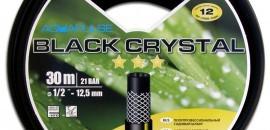 Шланг для полива чёрный