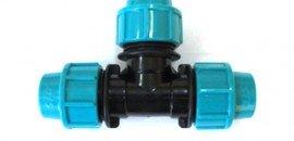 Тройник для водопровода полный str