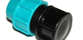 Заглушка str для полиэтиленовой трубы